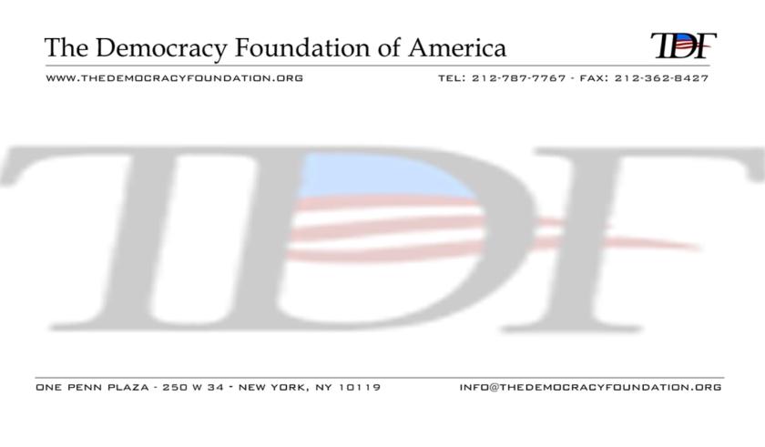 The Democracy Foundation of America