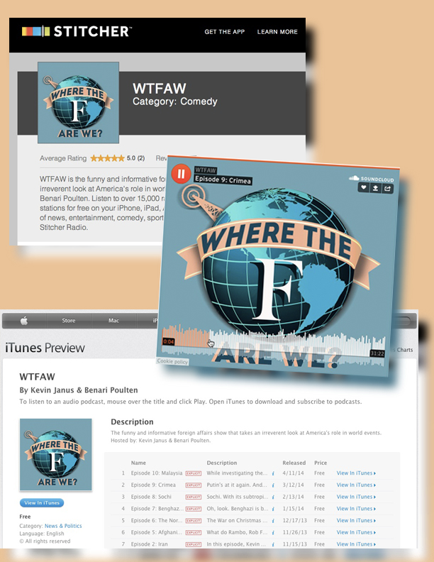 Where The F**K Are We Podcast and Boston WCAP Radio Show